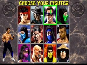 Mortal combat 2 alegere jucatori
