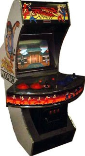 Street Fighter arcade machine