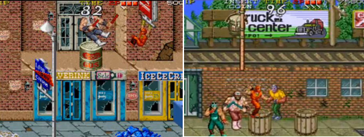 Ninja gaiden arcade screen
