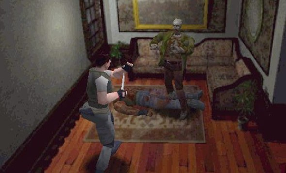 jocul Resident evil 1996