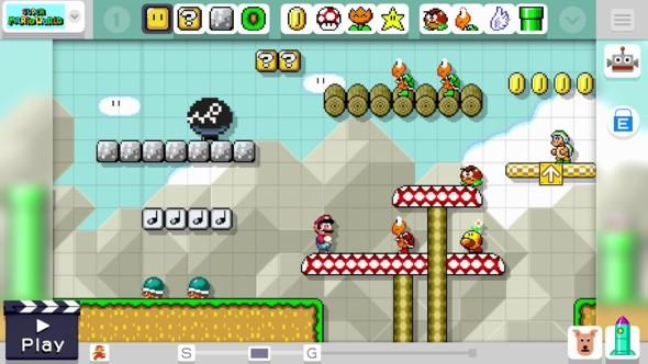 screenshot joc Super Mario maker
