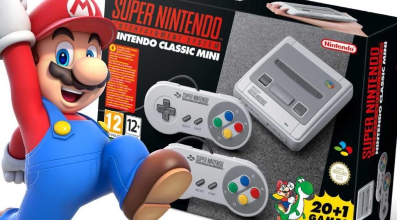 Consola NINTENDO SNES CLASIC MINI in ROMANIA