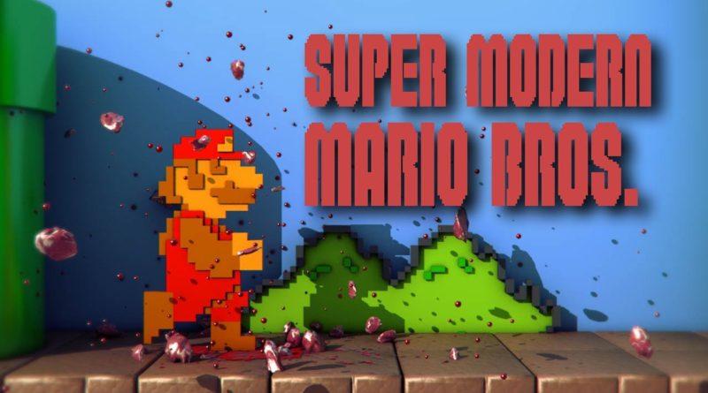 Super Mario Bros varianta moderna
