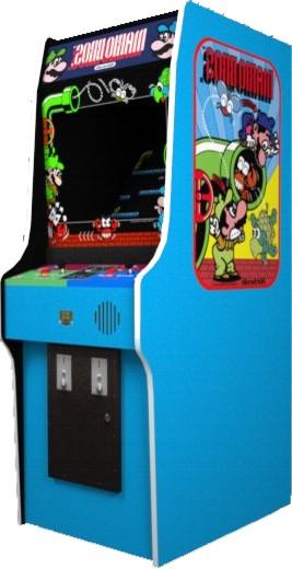 Mario Bros. arcade cabinet