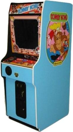 donkey kong arcade cabinet