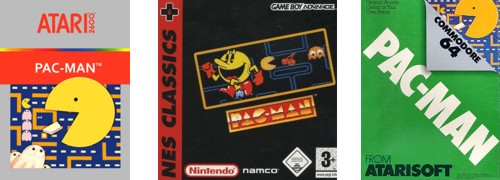 pac man console ports