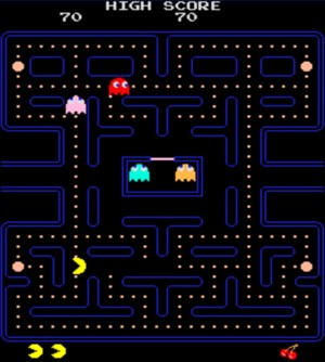 pac man scrennshot
