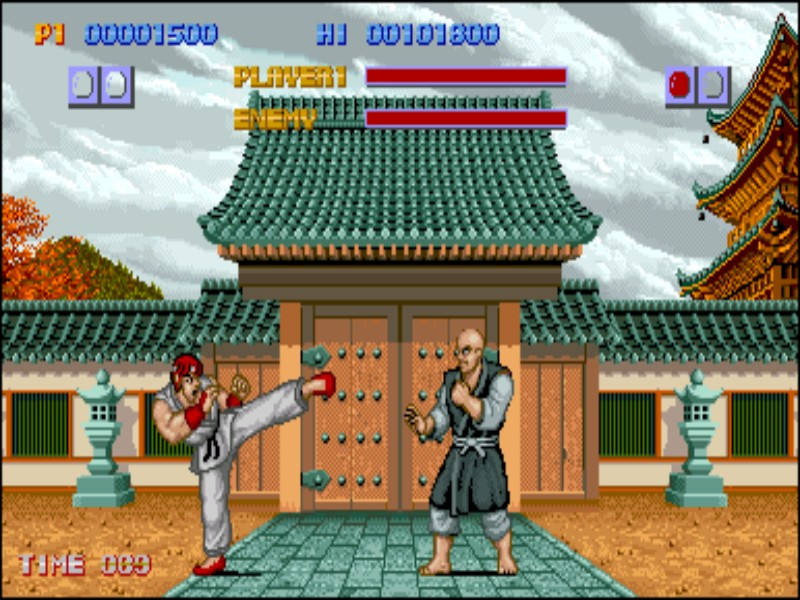 Street Fighter 1 screenshot 2