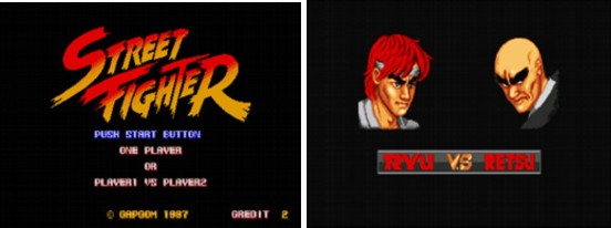 Street Fighter 1 screenshot