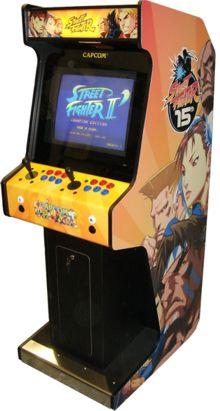 Street Fighter 2 arcade