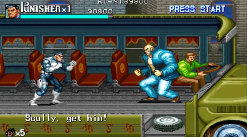 The Punisher arcade featured