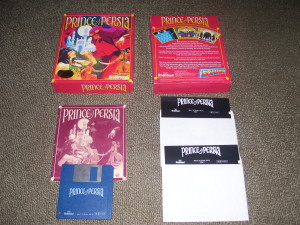 Prince of Persia 1990 floppy disk