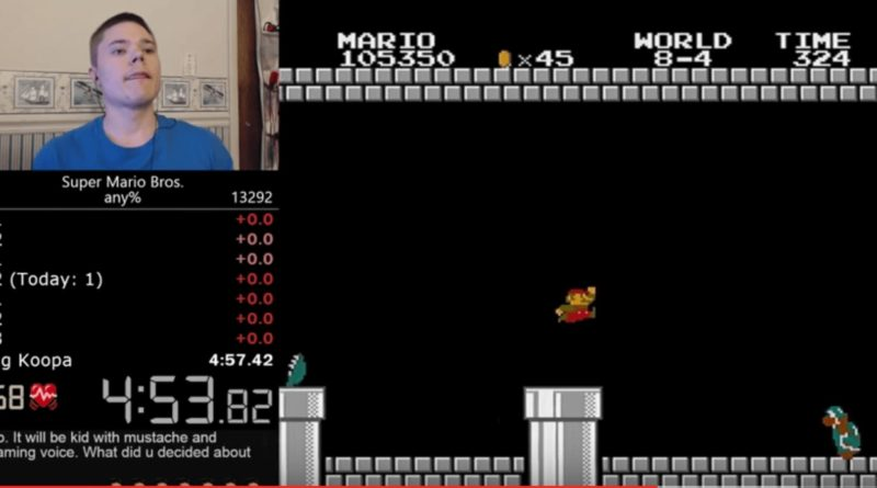 nou record super mario bros