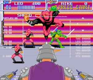 testoasele ninja vs Shreder