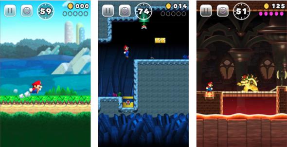 Scene Super Mario Run original