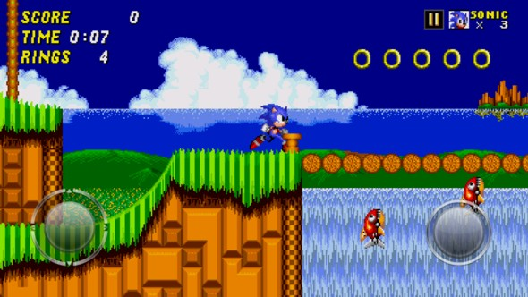 Sonic 2 mobile