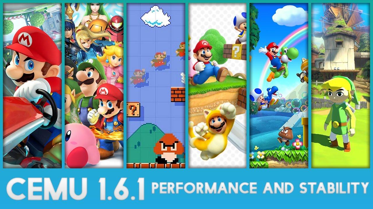 CEMU – primul emulator pentru Wii U