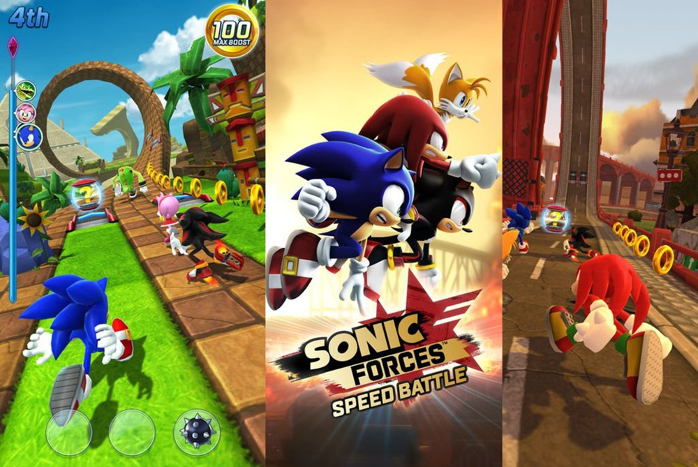 jocul Sonic Forces Android
