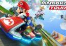 jocul Mario kart tour pe telefon